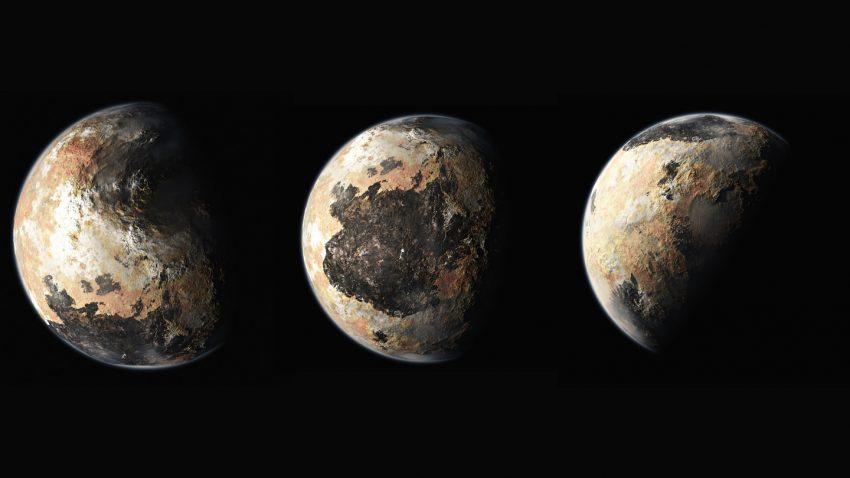 Pluto Transits